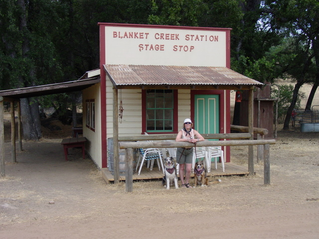 Blanket Stage Stop