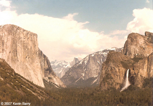 Yosemite pic by Kevin Barry